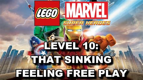 lego marvel heroes level 10 that sinking feeling