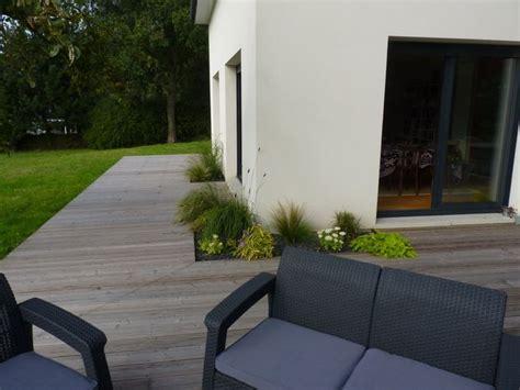 17 meilleures id 233 es 224 propos de am 233 nagement paysager autour d une terrasse sur lit