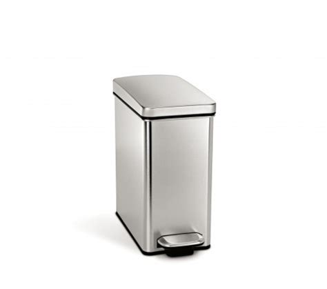 simplehuman bins for kitchens bathrooms