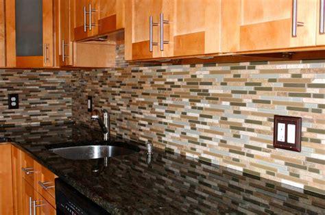 mosaic glass tiles for kitchen backsplashes ideas home