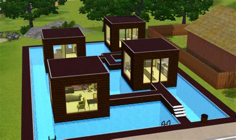 20 beautiful cool sims 3 house ideas building plans
