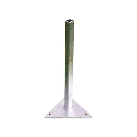support triangulaire 224 fixer au sol pour parasol paraflex plantes et jardins