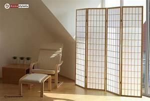 Spanische Wand Raumteiler : holz paravent raumteiler trennwand shoji in natur spanische wand sichtschutz ebay ~ Whattoseeinmadrid.com Haus und Dekorationen