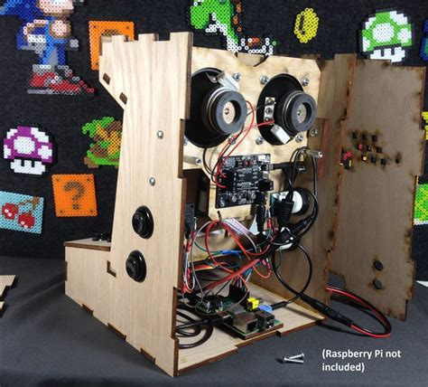 diy arcade cabinet kits more porta pi arcade kit