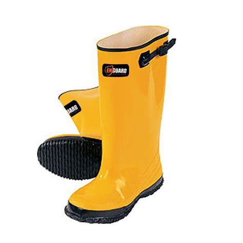 Rubber Boots Home Depot by Enguard Men Size 11 Yellow Rubber Slush Boots Egsb 11