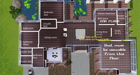 cool sims 3 house floor plans house style ideas