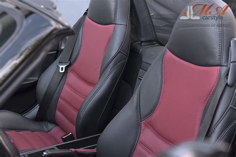 Re-upholstering Sport Seats With Leather [bmw Z3] Black