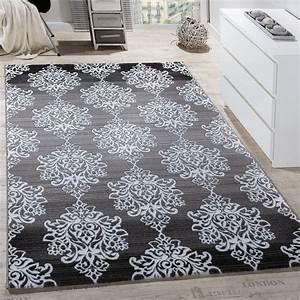 Teppich Wohnzimmer Grau : teppich wohnzimmer floral muster abstrakt grau design teppiche ~ Markanthonyermac.com Haus und Dekorationen