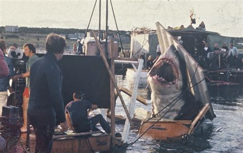 Jaws Fishing Boat Scene by Rare Color Photos From The Filming Of Jaws On Katama Bay