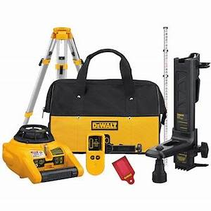 Rotary Laser Level Kit Rental - The Home Depot