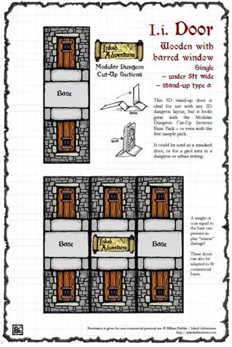 paizo inked adventures small dungeon door pdf