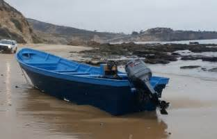 Panga Boat Lands In Crystal Cove by Panga Landing At Crystal Cove In Newport Not Just