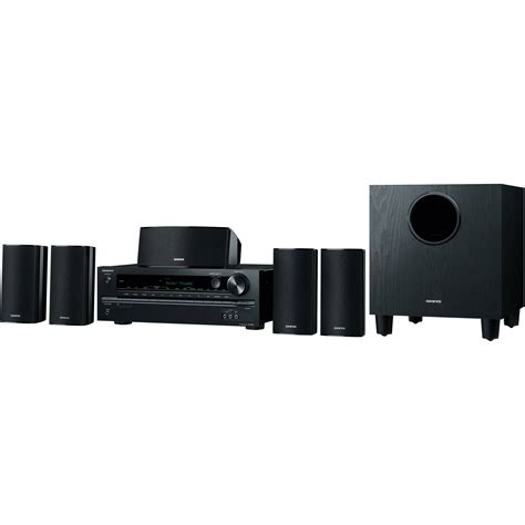 5 1 home theater system onkyo ht s3700 5 1 channel home theater system ht s3700 b h