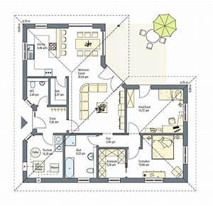Grundriss Bungalow 100 Qm : grundriss bungalow 120 qm zusammen mit herrlich zuhause akzent ~ Markanthonyermac.com Haus und Dekorationen