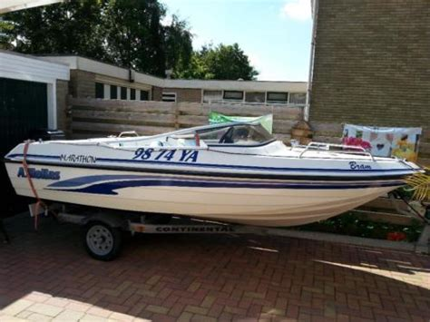 Boot Met Trailer En Motor by Nette Hellas 450 Speedboot Met Motor En Trailer