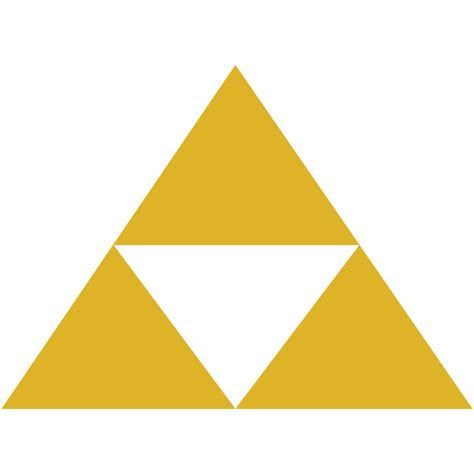 legend of triforce logo 4 quot die cut vinyl decal car window sticker 2 ebay