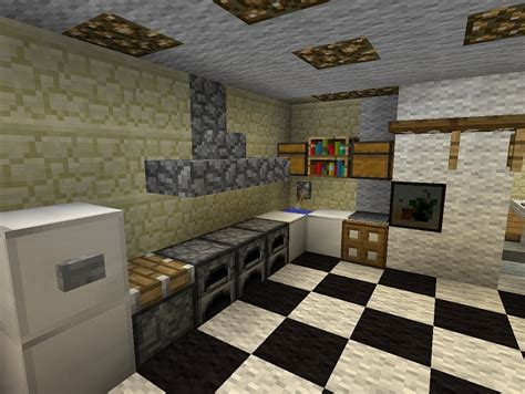 kitchens in minecraft homes decoration tips