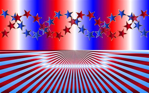 Red White And Blue Backgrounds ·①
