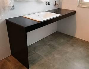 Waschbecken Arbeitsplatte Bad : arbeitsplatte bad ~ Markanthonyermac.com Haus und Dekorationen