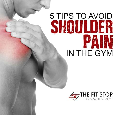 Tips To Avoid Gym Shoulder Pain  Fit Stop Physical Therapy