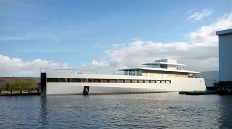 Steve Jobs Boat by Steve Job S Yacht Caught On Camera