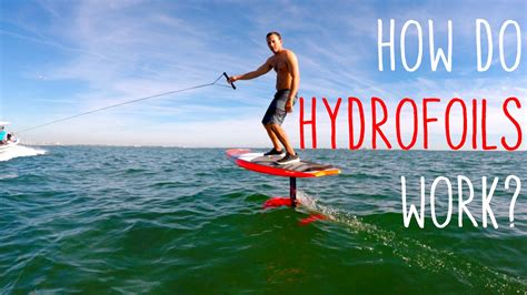 How Do Hydrofoils Work? Youtube