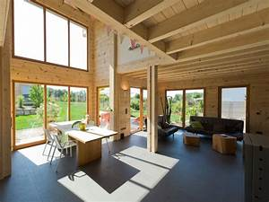 Holzanbau Am Haus : moderner holzblockbau blockhaus haselhof ~ Markanthonyermac.com Haus und Dekorationen