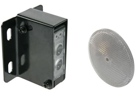 ir lichtsluizen en foto elektrische sensoren