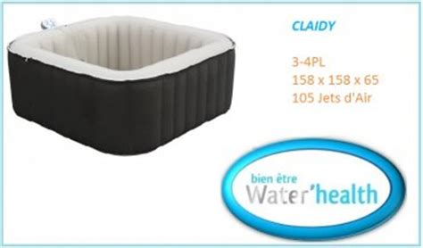 spa gonflable water health distripool