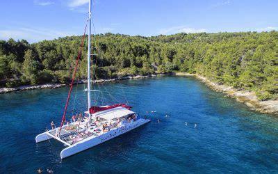 Catamaran Excursion Croatia by Day Sea Excursion On Mega Catamaran Summer Blues Hrvatska