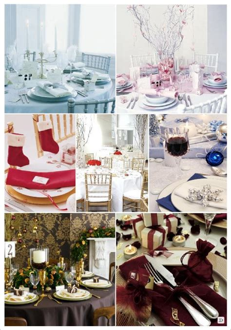 deco mariage theme hiver idees