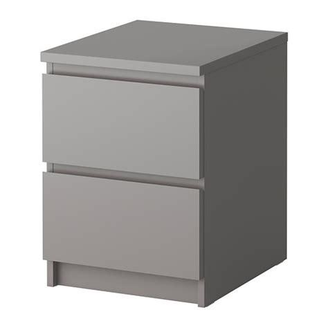 ikea nyvoll dresser light grey malm chest of 2 drawers grey ikea