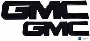 2014 GMC Sierra 1500 Black Powder Coat Aluminum Billet ...
