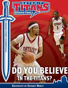 2009-10 Detroit Titans Men's Basketball Guide by P.J ...