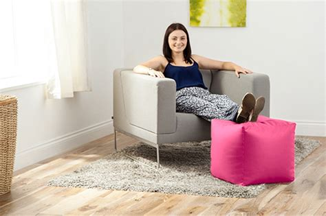 Faux Leather Cube Bean Bag Pouffe Foot Stool Beanbag Gym Floor Plan Green House Plans With Basement Fort Lewis On Post Housing Shasta Rv Classroom Regent Heights Single Story Open