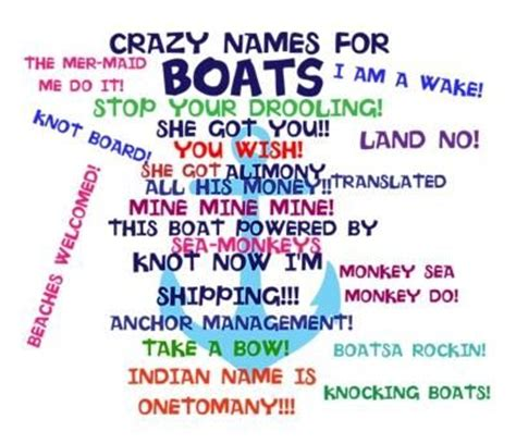 Spanish Boat Names by 54 Best Boat Names Images On Pinterest Funny Boat Names