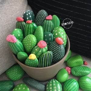 Stones Like Stones : 607 best pebbles and stones cactus images on pinterest cactus painted rocks and painted stones ~ Markanthonyermac.com Haus und Dekorationen