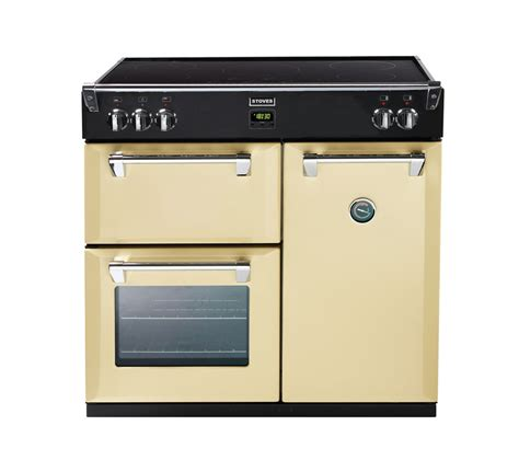 buy stoves richmond 900ei electric induction range cooker chagne free delivery currys