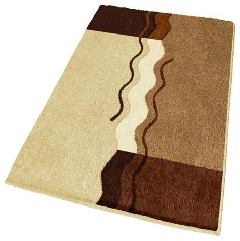 brown bath rug contemporary bath mats other by vita futura