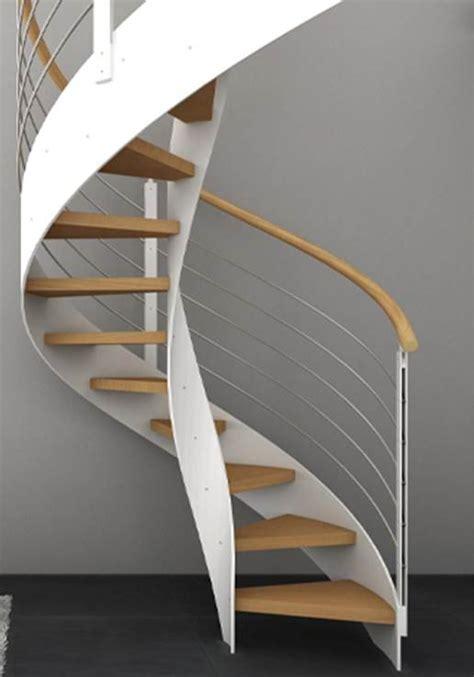 gamme design escalier h 233 lico 239 dal avec marche en h 234 tre et balustres en m 233 tal et inox 169 o 233 ba