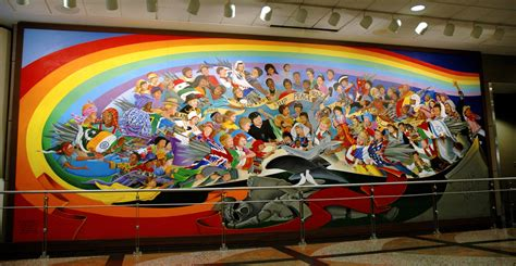 100 denver international airport murals removed 8
