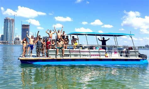 Party Boat Miami Groupon by Galene Charters Up To 45 Off Miami Fl Groupon