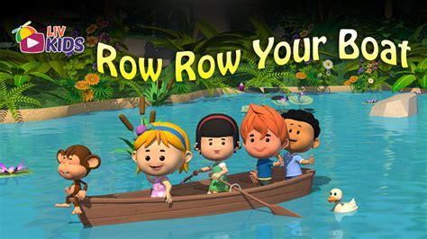 Youtube Row Your Boat Nursery Rhyme by Row Row Row Your Boat With Lyrics Liv Kids Nursery