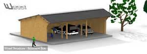 kit charpente bois wood structure