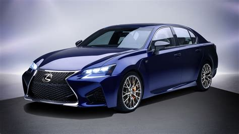 Wallpaper Lexus Gs F, Luxury Sedan, 2017, 4k, Automotive