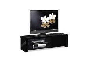 meubles tv miliboo pas cher meuble tv design laqu 233 noir illio ventes pas cher