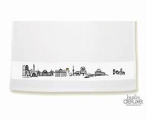 Berlin Souvenirs Online : geschirrtuch berlin skyline geschenke design souvenirs online ~ Markanthonyermac.com Haus und Dekorationen
