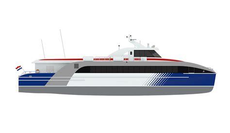 Catamaran Ferry Safety by Damen Fast Ferry 3609