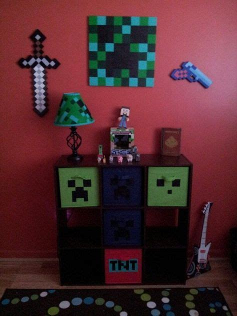17 best ideas about minecraft bedroom decor on