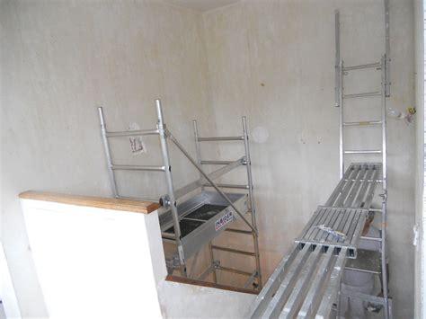 mise en peinture d une cage d escalier avec pose de toile de verre quartier jeanne d arc 224